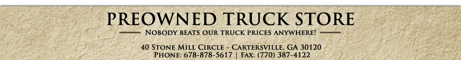 The PreOwned Truck Store