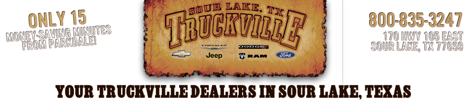 Truckville is your home for  Ford, Chevy, Dodge, Ram, Chrysler, Jeep & Pre Owned