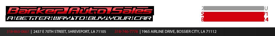 Barker Auto Sales