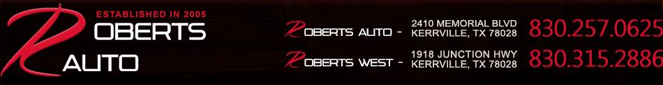 Roberts Auto Sales