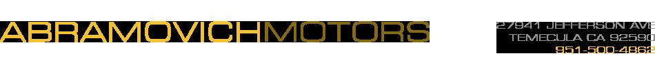 Abramovich Motors