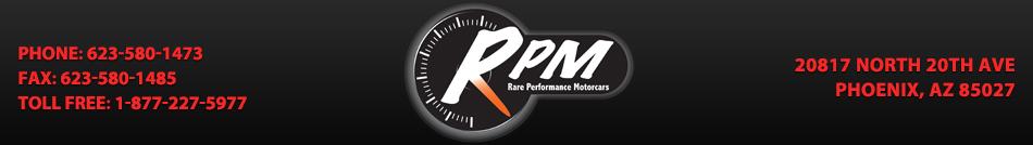 Rare Performance Motorcars