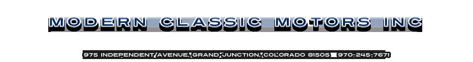 MODERN CLASSIC MOTORS