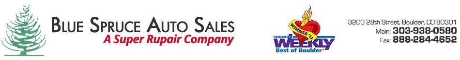 Blue Spruce Auto Sales